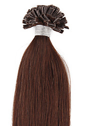 "16""-30"" All Colors 0.5G/S Remy Human Pre Bonded Nail U Tip Keratin Glue Hair Extensions 100S 50G"