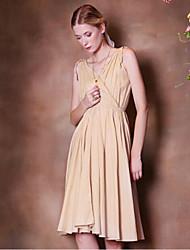 Pour My Fair Lady® Femme V Profond Sans Manches Au dessus des genoux Robes-1402043