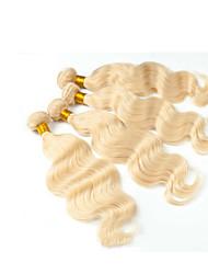Trama do cabelo com Encerramento Cabelo Eurásio Ondulado tece cabelo