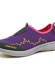 Кроссовки для ходьбы Универсальные Противозаносный Anti-Shake На открытом воздухе Дышащая сетка Полиэстер Катание вне трассы