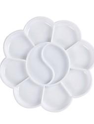 8.7cm Nail Art Paint Blossom Shape Plate
