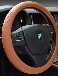 volant de voiture ensemble de cuir pour définir le réseau du diamant en relief antidérapant de haute qualité couvre volant