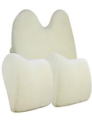 44*35 Velvet and Cotton Car Seat Sets Including Seat Back 1PCS and Seat Headrest 2PCS
