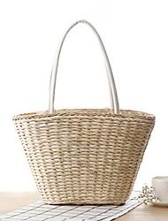 STYLE-CICI® Femme Paillette Cabas Blanc-36428966919