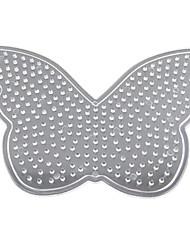 1pcs modelo claro contas perler pegboard padrão colorido da borboleta para hama contas 5 milímetros contas de fusíveis