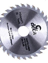 Legierung Sägeblatt 4 Zoll 110mm Holzbearbeitung Schneiden 30/40 Zahn