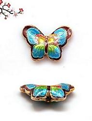 encanto de borboleta de cobre das mulheres para a pulseira