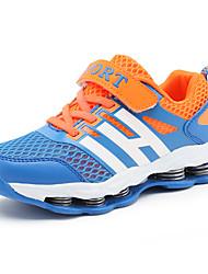 Boy's Sneakers Spring / Summer / Fall / Winter Comfort PU Outdoor / Athletic / Casual Flat Heel Hook & Loop Green