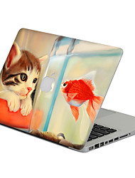 1 pc Scratch Proof PVC Body Sticker Cat Pattern For MacBook Pro 15'' with Retina / MacBook Pro 15'' / MacBook Pro 13'' with Retina / MacBook