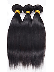 Brazilian Virgin Hair Straight 3Pcs 100% Human hair 8A Unprocessed Remy Hair Straight Virgin Human Hair Weaves