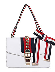 Women PU Formal / Casual / Event/Party / Office & Career / Shopping Shoulder Bag White / Red / Black