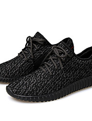 Running Shoes Men's / Women's Anti-Slip / Damping / Breathable Coconut Shoes/Yeezy Boost Leisure Sports White / Black