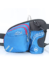 Waist Bag/Waistpack Shoulder Bag Bottle Carrier Belt Belt Pouch/Belt Bag Chest Bag for Cycling/Bike Running Sports Bag Multifunctional
