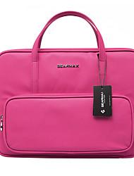 multifuction 13 polegadas bolsa de laptop de negócios / manga preto / rosa