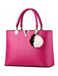 Women Cowhide Formal / Event/Party / Wedding / Office & Career Tote Multi-color
