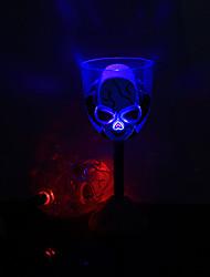 1PC Flashing Red Wine  Random Pub KTV Led Lamp Night Light LED Drinkware  Halloween Red Wine