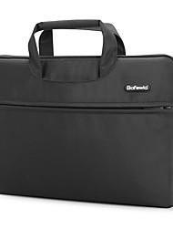pofoko® 11inch / 14inch / 15inch imperméable à l'eau d'une épaule sac d'ordinateur portable / caisse couleur unie noir / marron