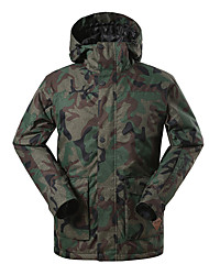 Gsou snow dark camouflage ski jackets/ snowboard/double snowboard jackets /men male thermal wearable ski-wear