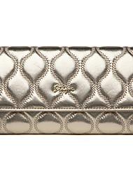 Stiya Fashion Vintage Top Grade Sheepskin Lady Wallet Large Capacity Multifunction Wristlet