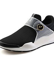 Women's Shoes Fabric Comfort Sneakers Athletic / Casual Flat Heel Others Black / Blue / Green / Royal Blue