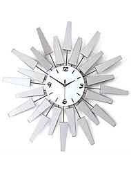 Modern Style Creative Fashion Mirror Mute Wall Clock