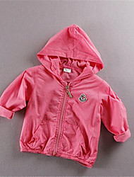 Boy's Cotton Jacket & Coat,Fall Solid