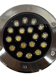 12W Buried Lights, Outdoor Garden Lighting Circular LED Buried Lights