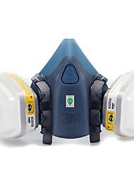 3m-7502 respirateurs 6002 dioxyde de soufre anti-acide végétales masque à gaz chimique professionnel