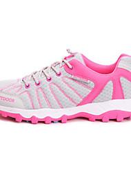 Light Grey/Purple Wearproof Rubber Running Shoes for Women