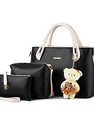 Women Cowhide Formal / Office & Career Tote / Bag Sets Multi-color