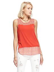 Herz Soul® Herren Schulterfrei Ärmellos T-Shirt Orange-12AA22859