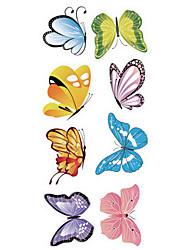 Fantasie Wand-Sticker Flugzeug-Wand Sticker Dekorative Wand Sticker / Lichtschalter Sticker / Bad Sticker,PVC Stoff AbziehbarHaus