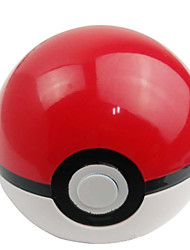 Anime Action Figures Inspired by Pocket Monster Ash Ketchum Anime Cosplay Accessories Figure White / Red ABS Male / Female