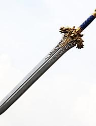 Arma / Espada Inspirado por WOW Fantasias Anime Acessórios de Cosplay Espada Prateado PVC Masculino