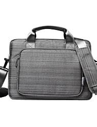 gearmax® de 15 pulgadas portátil impermeable caja del ordenador portátil / bolsa de color sólido gris