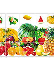 Wall Stickers Wall Decals, Many Kinds of Fruit Kitchen Use PVC Wall Sticker