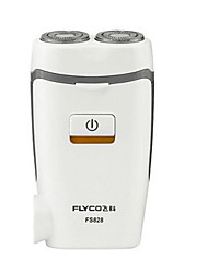 Electric Shaver Men Face Electric / Rotary Shaver Pivoting Head / LED Light Stainless Steel FLYCO