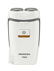 Rasoio elettrico Da uomo Viso Elettrico / Rasoio rotante Testina girevole / Luce LED Acciaio inossidabile FLYCO