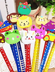 Cartoon HB Pencil  Rubber Pencil