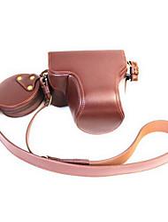 olympusp en - f caméra étui PENF batterie amovible appareil photo en cuir sacs