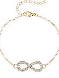 Bracelet Chaînes & Bracelets Alliage Forme de Numéro Mode / Adorable Quotidien / Décontracté Bijoux Cadeau Doré / Argent,1pc