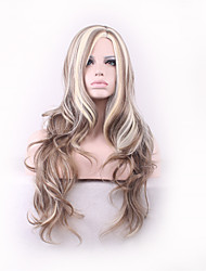 Hair Style Fashion Curly Realistic Wigs Perruque Peruca Synthetic Wigs Long Femme Anime Cosplay Wigs Sex Products