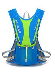15 L mochila Acampar e Caminhar Ao ar Livre Compacto Vermelho / Preto / Azul Terylene / Nailon 210D