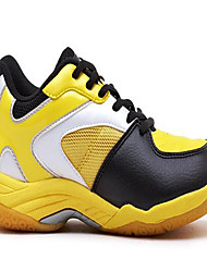 Unisex Sneakers PU Lace-up Yellow Badminton