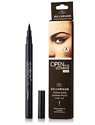 1Pcs Perfect Solid Liquid Eye Liner Liquid Pen Water Soluble Eye Liner Pencil Waterproof Not Dizzy Hard