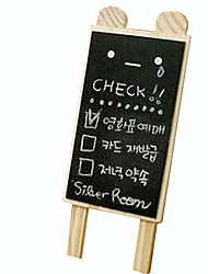 Small Bear Toy Wooden Blackboard