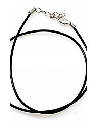 Pendant Necklaces Chain Necklaces Statement Necklaces Nylon Fashion Statement Jewelry Black Jewelry Daily Casual 1pc