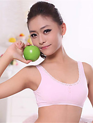 XLY Development Puberty Teenagers Girl's Comfortable Cotton Wireless Sports Bra Underwear. Item. Thin Cup Bra.Code 694