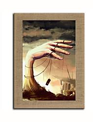 Ручная роспись фантазия Modern,1 панель Холст Hang-роспись маслом