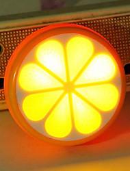 Laranja, Limão, criativo lightl luz do sensor levou noite